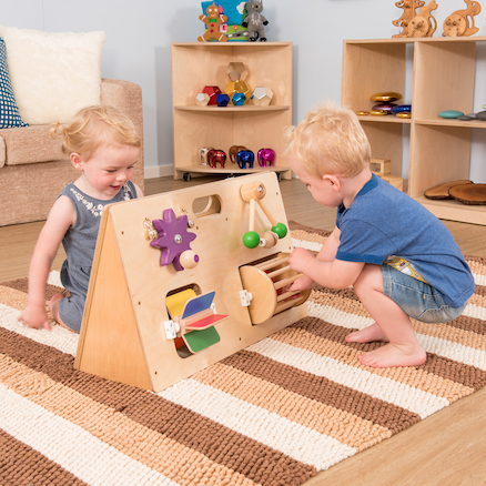 Wooden Manipulative Activity Centre  large