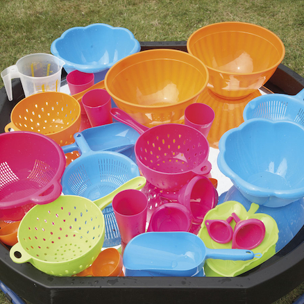 Bumper Plastic Waterplay Kit 26pcs  large