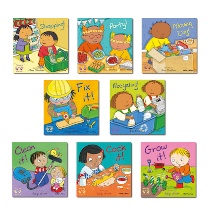 Helping Hands New Experiences Toddler Books 8pk  large