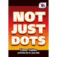 Not Just Dots Times Tables Activity Book  medium