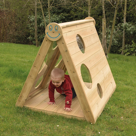 Outdoor Wooden Explorer Triangle  large