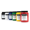 Heat Fix Screen Printing Ink Assorted 500ml 6pk  small