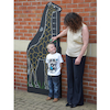 Giraffe Chalkboard Height Chart W80 x H180cm  small