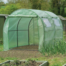 Poly Tunnel With Reinforced Cover  medium