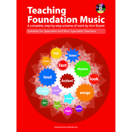 Teaching Foundation Music Book and CD  large