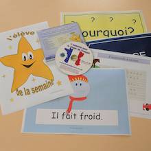 French Display and Vocabulary CD Rom  medium