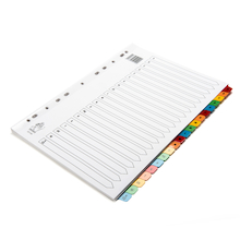 A4 Mylar A-Z Index File Dividers  medium