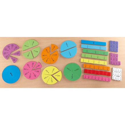 Magnetic Fraction Tiles Multi Buy Pack 106pcs  large