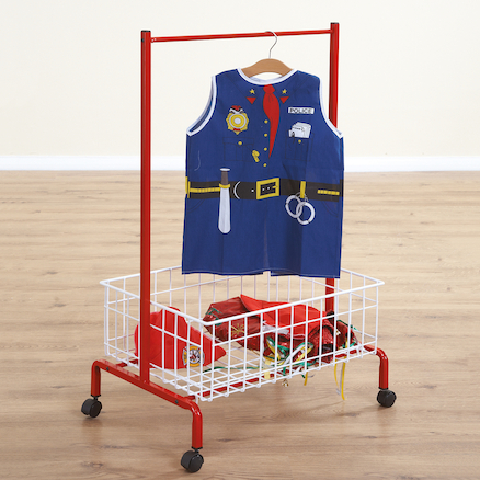 Role Play Dressing Up Metal Storage Trolley  large