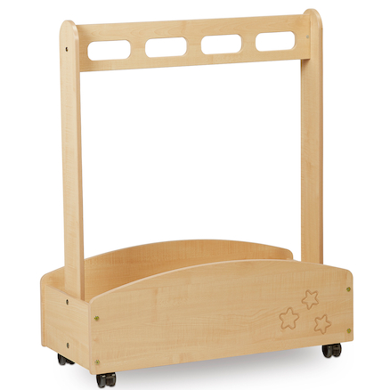 Wooden Role Play Dressing Up Trolley  large