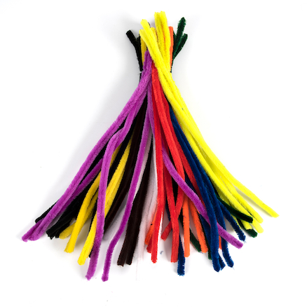 Colossal Assorted Pipecleaners 50cm 50pk  large