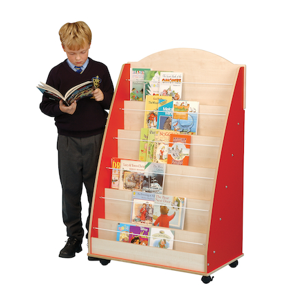 Single Sided Mobile Bookcase  large