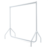 Clothes Rail White  small