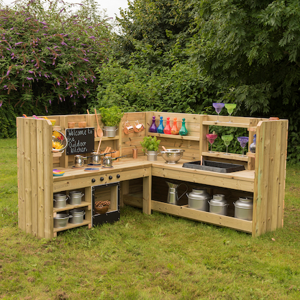 Outdoor Corner Kitchen Unit with Standard Delivery  large