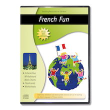 French Fun Worksheets CD  medium