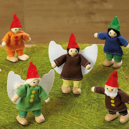 Small World Woodland Fairy Friends 10pcs  large