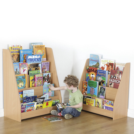 Wooden Book Display Units  large