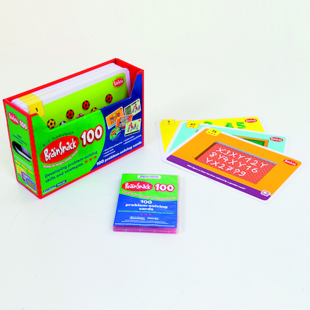 Brainsnack 100 Activity Cards with CD  large