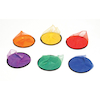 6 Colour Tail Frisbees 6pk  small