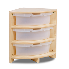 PlayScapes Corner Storage Unit  medium