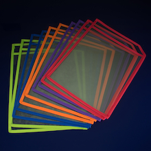 A4 Double Sided Clear Boards  medium