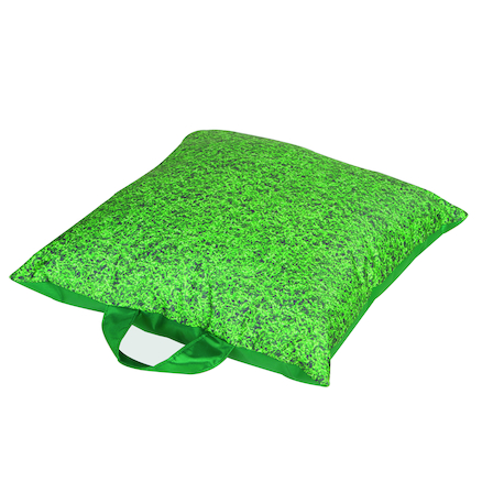 Lightweight Grass Print Cushions 3pk  large
