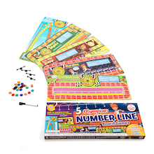 Number Line Maths Board Games  medium