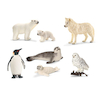 Arctic and Antarctic Animals 7pcs  small