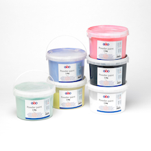 TTS Powder Paint 2.5kg Tubs Assorted Colours 6pk  medium