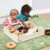 Toddler Wooden Sand and Water Tub  small
