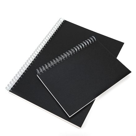 140gsm Hardback Spiral Sketchbook A3  large