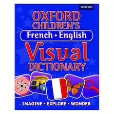 Oxford Children's French-English Visual Dictionary   medium