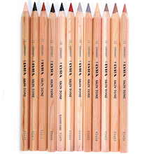 Lyra Flesh Tones Colouring Pencils 12pk  medium