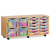 Combination Stacking Tray Storage Units  medium