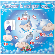 Remember To Wash Your Hands Sign  medium