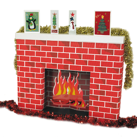 Corobuff Fireplace  large