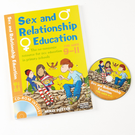 Sex and Relationship Book and CD ROM  large