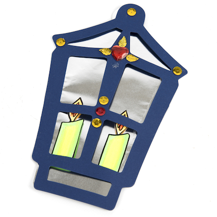 Mirrored Lantern Decorations  large
