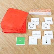 Physical Pre-Coding Mats and Cards Set  medium