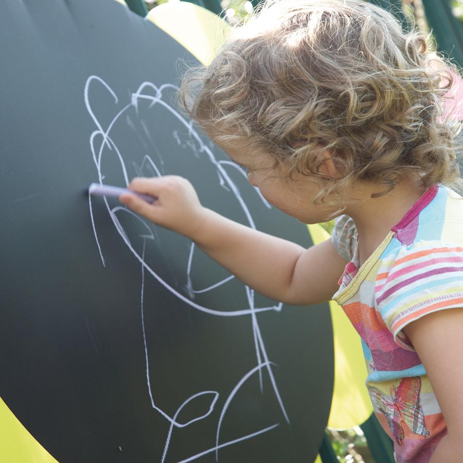 Buy Outdoor Mark Making Chalkboard Daisies 5pk Tts
