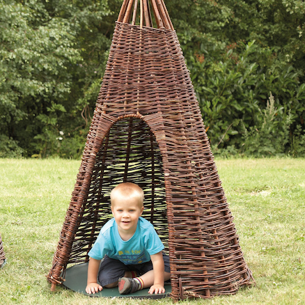 Large Willow Teepee W130 x H200cm  large