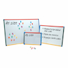 Drywipe Magnetic Whiteboard A3 Single  small