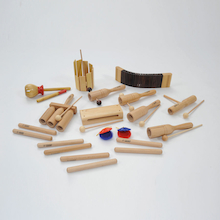 Wooden Sounds Percussion Instruments 15 Players  medium