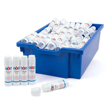TTS Lid Saver Glue Sticks 100pk with tray  large