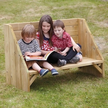 Outdoor Reading Corner Bench  medium