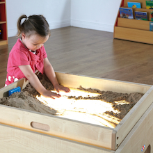 Wooden Sand Tray Top for Lightbox  medium