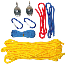 Outdoor Traversing Pulley System  medium