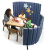 Sound Absorbing Room Divider  small