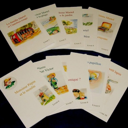 Reading Books In French 10pk  large