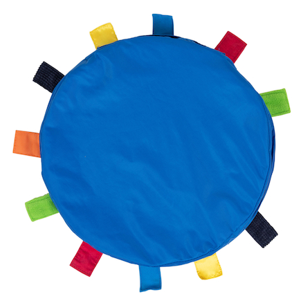 Sensory Touch Tags Carry Cushion  large